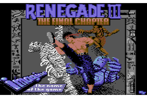 Renegade III: The Final Chapter (1989) by Imagine C64 game