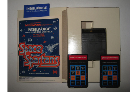 Mattel Electronics Intellivoice + Space Spartans Game ...