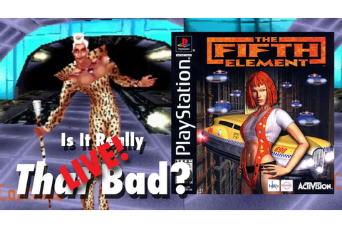 The Fifth Element (PS1), Is It Really That Bad? Live ...