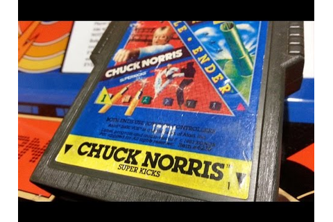 Classic Game Room - CHUCK NORRIS SUPERKICKS review for ...