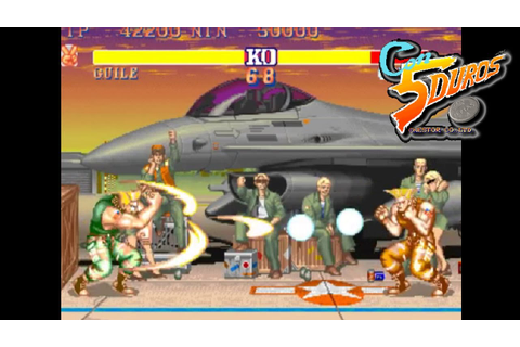 "STREET FIGHTER 2': RAINBOW EDITION (GUILE) - ""CON 5 DUROS ..."