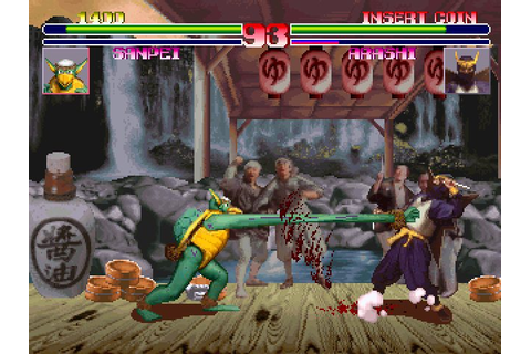 Blood Warrior (1994) by Kaneko Arcade game