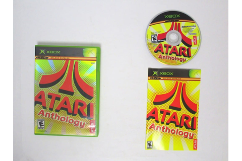 Atari Anthology game for Xbox (Complete) | The Game Guy