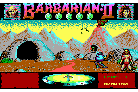Download Barbarian II - Dungeons of Drax | Abandonia