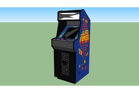 Juno First arcade game | 3D Warehouse