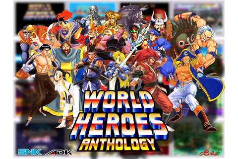 World Heroes - ADK/SNK | Video Games | Pinterest