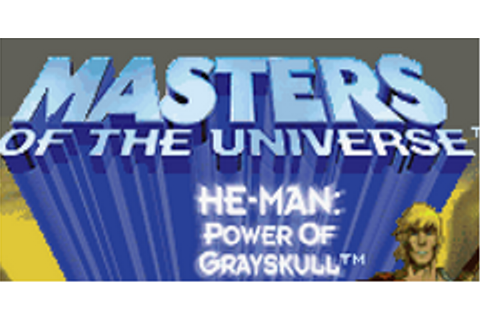 He-Man: Power of Grayskull Download Game | GameFabrique