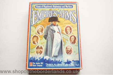 Empires in Arms, boxed wargame - The Shop on the Borderlands