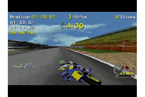 Moto Racer World Tour Arcade Gameplay (Playstation,PSX ...