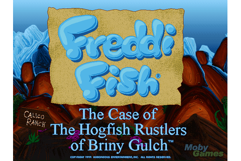 Download Freddi Fish 4: The Case of the Hogfish Rustlers ...