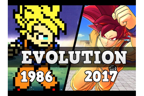 Dragon Ball Games - Evolution (1986 - 2017) - YouTube