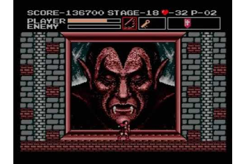 Vampire Killer (MSX) - No Death Walkthrough - YouTube