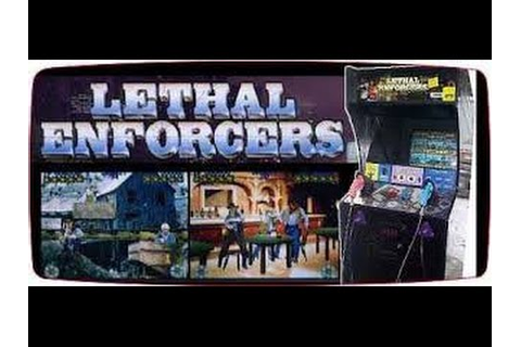 Lethal Enforcers Arcade - YouTube