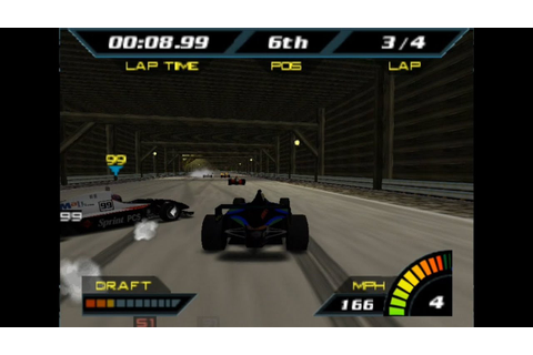indy Racing 2000 Gameplay Golden Cup (Nintendo 64) - YouTube