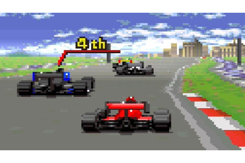 Michael Andretti's Indy Car Challenge ... (SNES) - YouTube