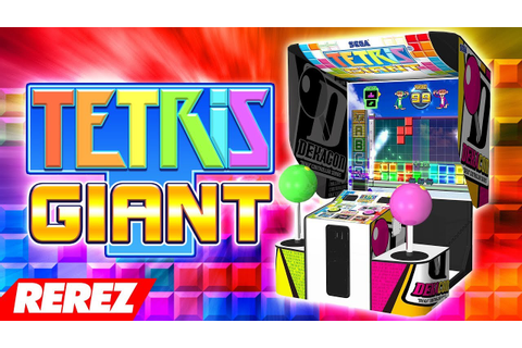 Biggest Tetris Game Ever! / Tetris Giant - Rerez - YouTube