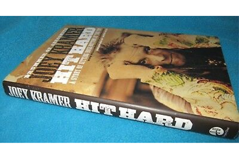 HIT HARD ~ Joey Kramer. Hitting Rock Bottom Drummer of ...