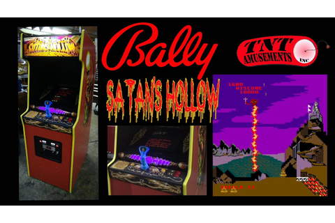 #1044 Bally Midway SATAN'S HOLLOW Arcade Video Game - TNT ...