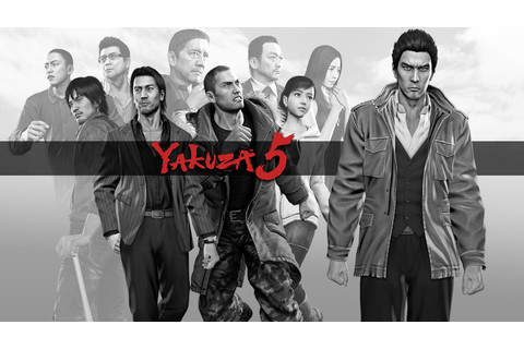 Yakuza 5 Game | PS3 - PlayStation