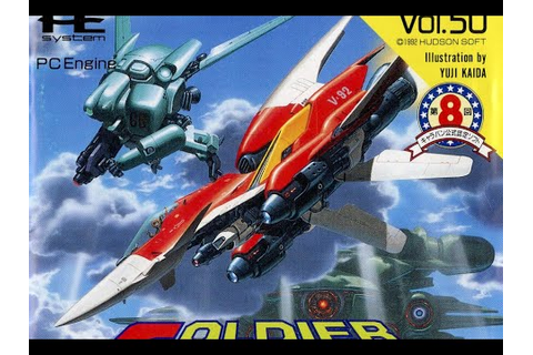 Classic Game Room - SOLDIER BLADE review for PC-Engine ...