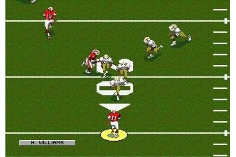 NFL Sports Talk Football '93 Starring Joe Montana (En ...