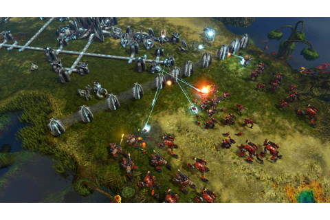 New Grey Goo combat images - Grey Goo - GameReplays.org