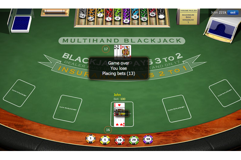 Multiplayer BlackJack - Online Casino Game by ...