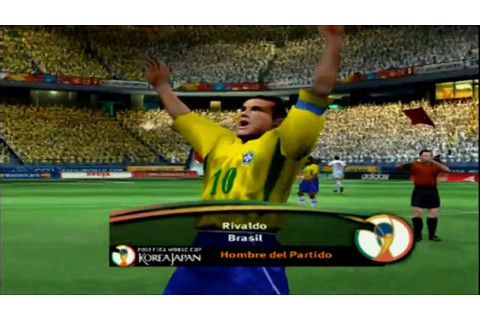 2002 fifa world cup ps2 - YouTube