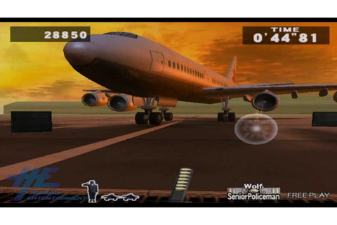 Lethal Enforcers 3 - Airport 2004 Gameplay - YouTube