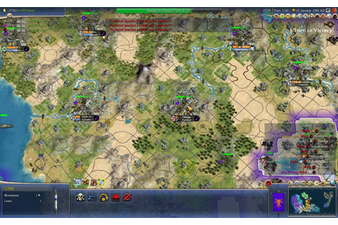 Civilization IV: Beyond the Sword - Endgame Nuking Spree ...