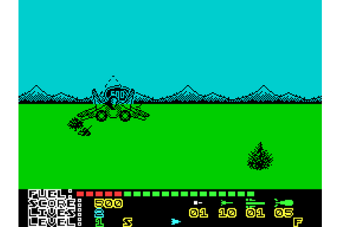 MIG-29 Soviet Fighter (1989) by Codemasters ZX Spectrum game