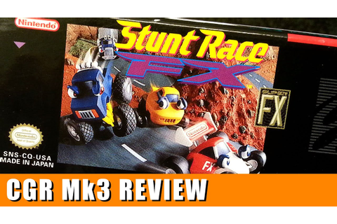 Classic Game Room - STUNT RACE FX review for Super ...