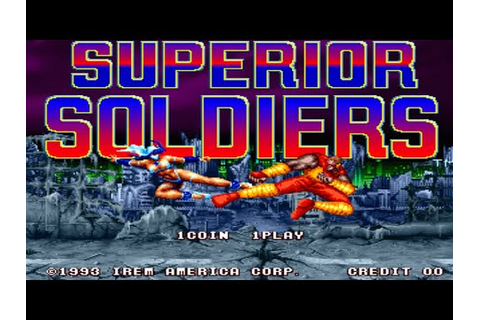 Superior Soldiers [パーフェクトソルジャーズ] Game Sample - Arcade ...