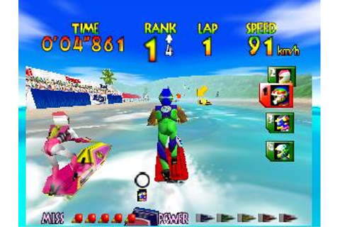 Wave Race 64 Nintendo 64 Game