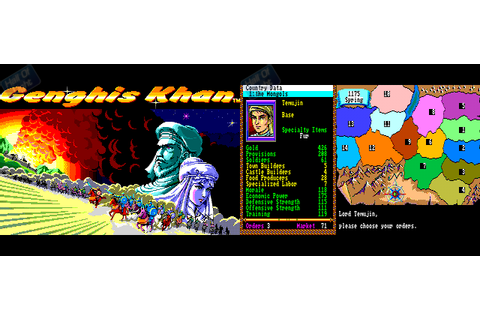 Genghis Khan : Hall Of Light – The database of Amiga games