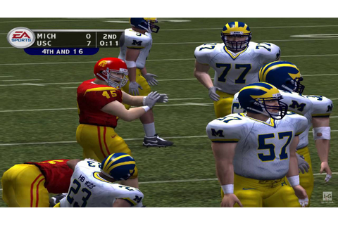 NCAA Football 2004 GameCube Gameplay HD - YouTube