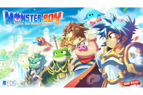 Monster Boy And The Cursed Kingdom Wallpapers - Wallpaper Cave