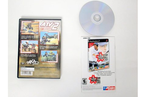 ATV Quad Power Racing 2 game for Sony PlayStation 2 | The ...