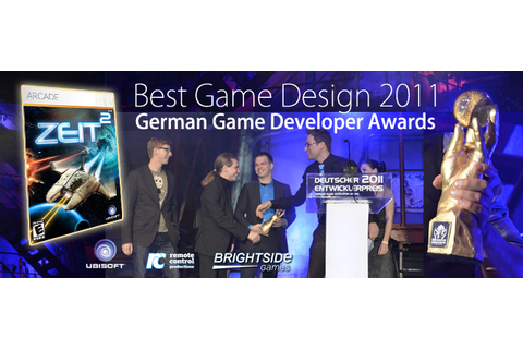 "Zeit² wins ""Best Game Design"" at German Game Developer ..."