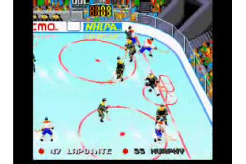 Tecmo Super Hockey (Genesis) - Gameplay Demo - YouTube