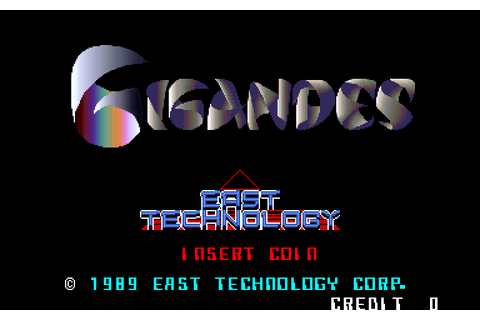 Gigandes (1987) by East Technology Arcade game