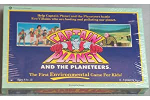 Amazon.com: Captain Planet and the Planeteers Game: Toys ...