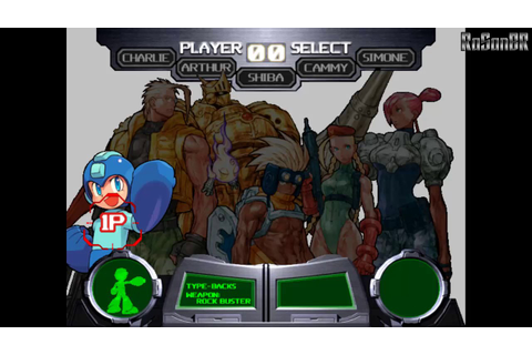 Cannon Spike (Dreamcast) plays as Megaman, B.B. Hood and ...