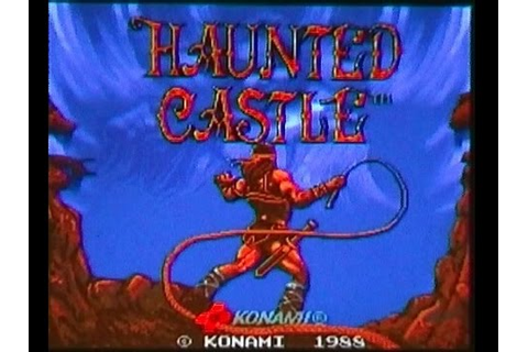 Haunted Castle (Castlevania Arcade) On MAME - YouTube