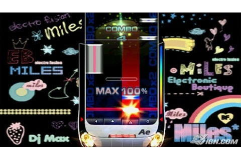 psp games dj max fever