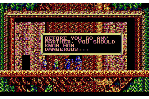Download Sorcerian rpg for DOS (1990) - Abandonware DOS