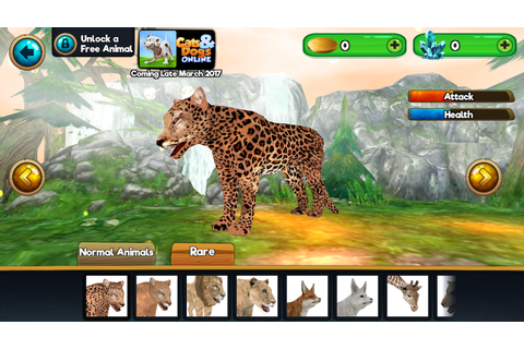 Animal Sim Online: Big Cats 3D - Android Apps on Google Play