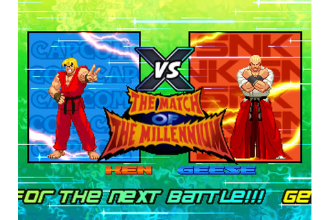 MUGEN PLAYER: SNK VS CAPCOM THE MATCH OF THE MILLENNIUM
