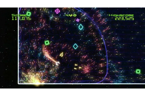 Classic Game Room HD - GEOMETRY WARS: RETRO EVOLVED Xbox ...