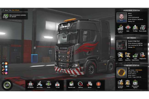 ETS 2 – 1.34 FINISHED SAVE GAME PROFILE | ETS2 mods | Euro ...
